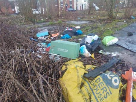 Flytipping NHS box