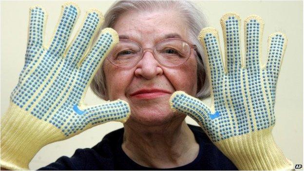 Kevlar inventor Stephanie Kwoley